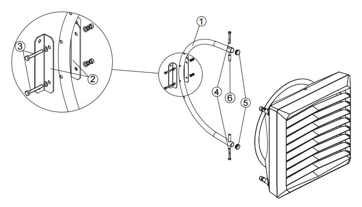 Схема установки тепловентилятор